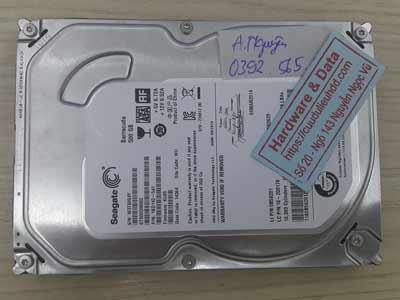 Cứu dữ liệu ổ cứng Seagate 500GB cut mất dữ liệu