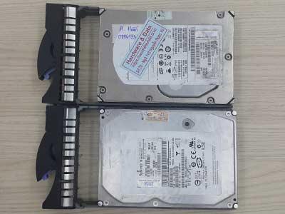 phục hồi dữ liệu Server Raid1 Sas 300GB hỏng main
