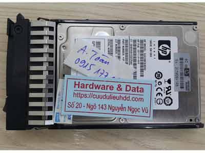 khôi phục dữ liệu máy chủ SAS 146GB mất dữ liệu