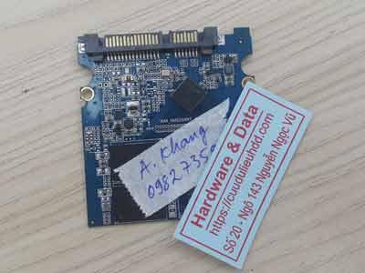 phục hồi dữ liệu ổ cứng SSD 120GB bị lỗi chip