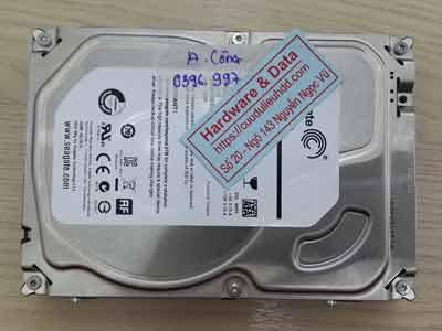 Cứu dữ liệu ổ cứng camera Seagate 4TB