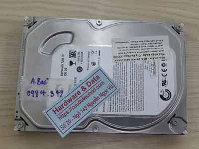 Cứu dữ liệu ổ cứng Seagate 250GB đầu từ lỗi