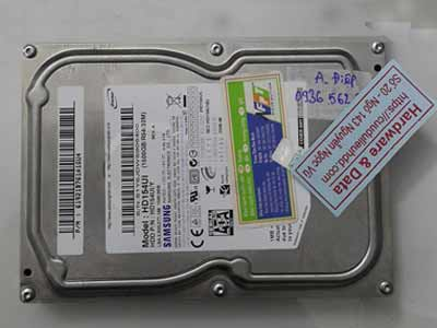 Phục hồi dữ liệu Samsung 1.5TB chết cơ