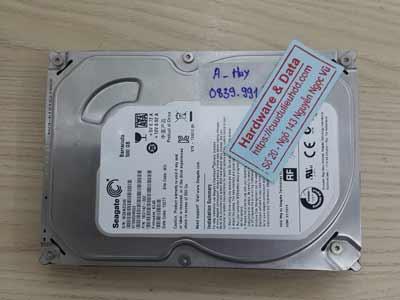 khôi phục dữ liệu ổ cứng Seagate 500GB chết cơ