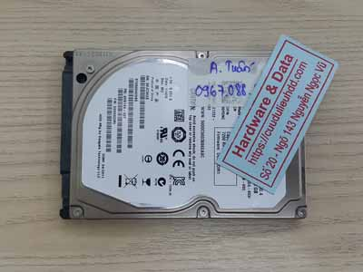phục hồi dữ liệu Seagate 500GB đầu từ lỗi