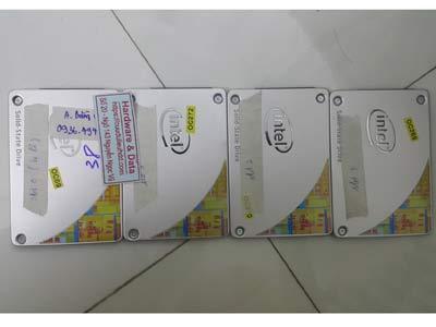 Khôi phục dữ liệu Raid0 SSD intel 240GB