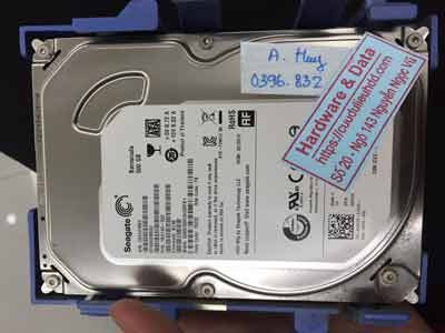 phục hồi dữ liệu seagate 500GB virus mã hóa