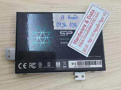 lấy lại dữ liệu ổ cứng SSD SP 512GB virus mã hóa