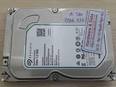 khôi phục dữ liệu ổ cứng Seagate 1TB chết cơ