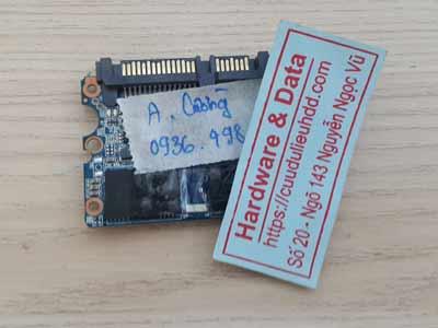 Phục hồi dữ liệu ổ cứng SSD Kuijia chip lỗi