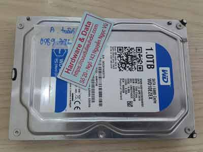 phục hồi dữ liệu ổ cứng Western 1TB Bad sector