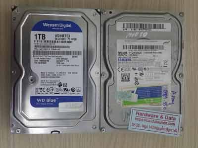 Khôi phục dữ liệu ổ cứng mất dữ liệu