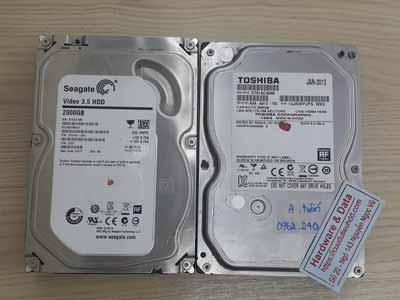 Khôi phục dữ liệu ổ cứng camera Seagate 2TB