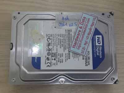 Phục hồi dữ liệu ổ cứng Western 320GB đầu từ lỗi