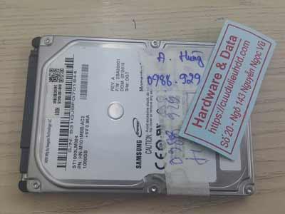 Lấy lại dữ liệu ổ cứng Samsung 1TB chết cơ