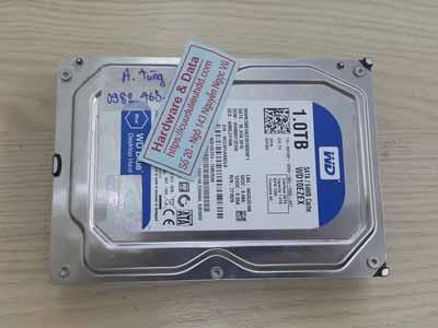 phục hồi dữ liệu ổ cứng Western 1TB dầu đọc kém