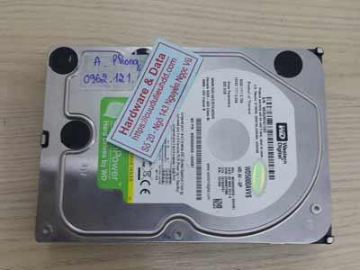 khôi phục dữ liệu ổ cứng Western 500GB virus mã hóa