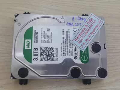 Khôi phục dữ liệu ổ cứng Western 3TB đầu từ lỗi
