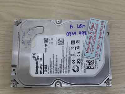 Cứu dữ liệu ổ cứng Seagate 1TB đầu từ lỗi