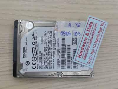 Lấy lại dữ liệu ổ cứng Hitachi 250GB bad nặng