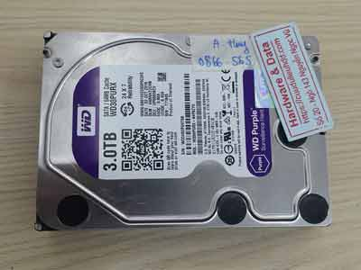 lấy lại dữ liệu ổ cứng Western 3TB chết cơ
