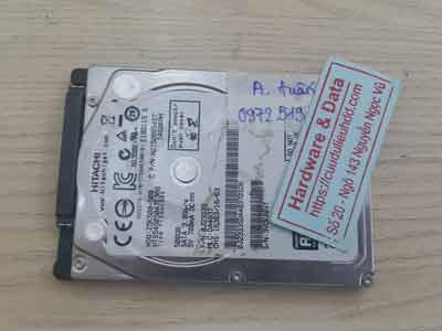 Lấy lại dữ liệu ổ cứng Hitachi 500GB chêt cơ