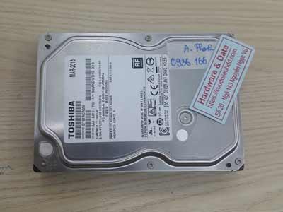 Phục hồi dữ liệu ổ cứng Toshiba 500GB chết cơ