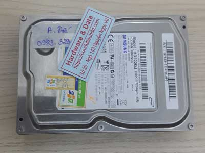 Lấy lại dữ liệu ổ cứng Samsung 320GB chết cơ