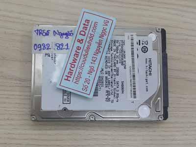 Lấy lại dữ liệu ổ cứng Hitachi 250GB đầu từ lỗi