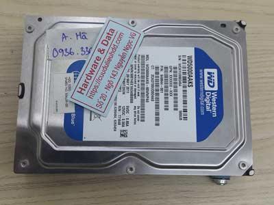 Lấy lại dữ liệu ổ cứng Western 500GB mất dữ liệu