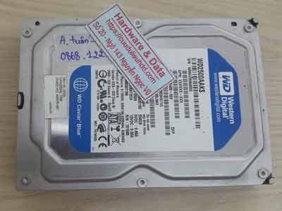 Phục hồi dữ liệu ổ cứng Western 250GB đầu từ lỗi