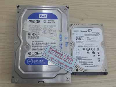 lấy lại dữ liệu ổ cứng Western 250GB bad nặng