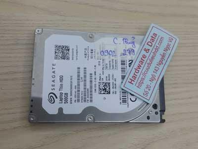 Lấy lại dữ liệu ổ cứng Seagate 500GB chết cơ