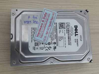 Phục hồi dữ liệu ổ cứng Western 500GB đầu từ lỗi