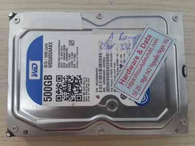 Khôi phục dữ liệu ổ cứng Western 500GB đầu từ lỗi