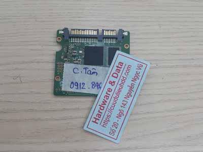 Phục hồi dữ liệu ổ cứng SSD PLextor 128GB lỗi chip