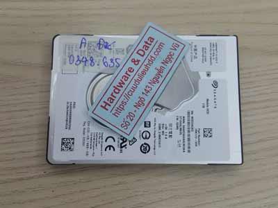 phục hồi dữ liệu ổ cứng Seagate 1TB ngấm nước