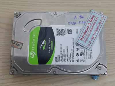Phục hồi dữ liệu Seagate 500GB mất dữ liệu
