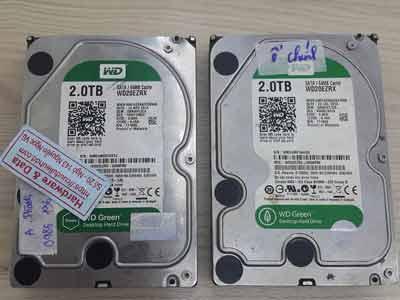 Lấy lại dữ liệu ổ cứng Western 2TB đầu từ lỗi