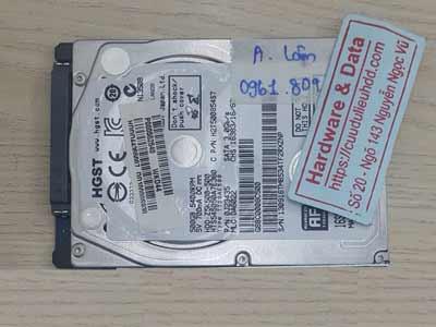 lấy lại dữ liệu ổ  cứng Hitachi 500GB chết cơ