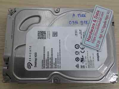 Khôi phục dữ liệu ổ cứng Seagate 4TB mất dữ liệu