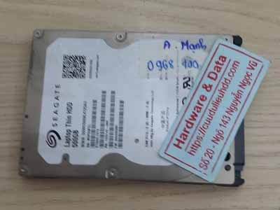 Cứu dữ liệu ổ cứng Seagate 500GB Mất dữ liệu