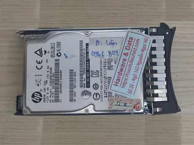 Cứu dữ liệu máy chủ ổ cứng Sas 300GB Raid 1 mất dữ liệu