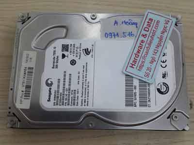 Khôi phục dữ liệu ổ cứng Seagate 320GB đầu đọc lỗi