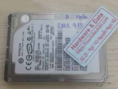 Cứu dữ liệu ổ cứng Hitachi 160GB chết cơ