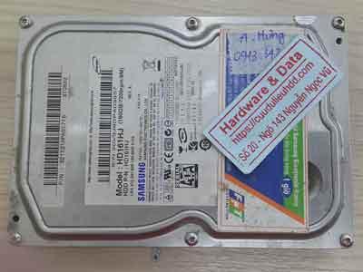 Lấy lại dữ liệu ổ cứng Samsung 120GB chết cơ