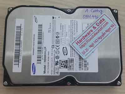 Khôi phục dữ liệu ổ cứng Samsung 80GB chết cơ