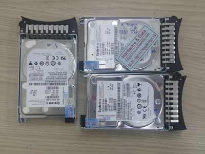 phục hồi dữ liệu máy chủ ổ cứng SAS 1TB mất cấu hình