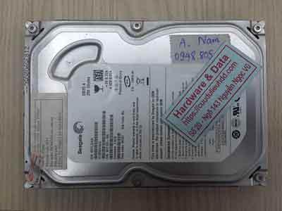 cứu dữ liệu ổ cứng Seagate 250GB bad