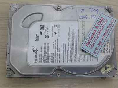 Khôi phục dữ liệu ổ cứng Seagate 500GB đầu từ lỗiST5000M002